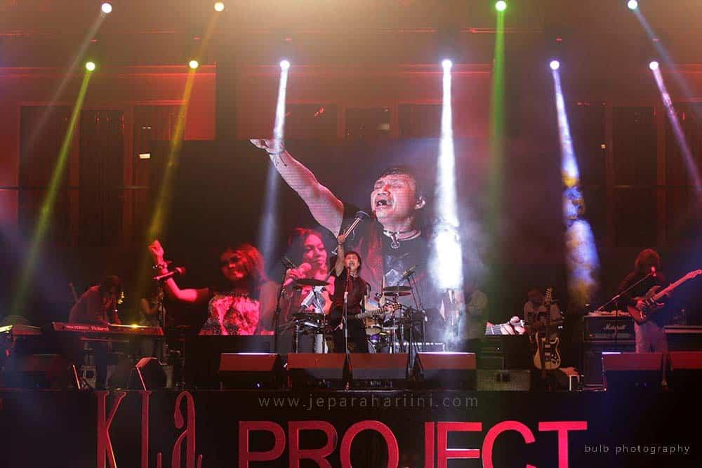 konser kla project di jepara