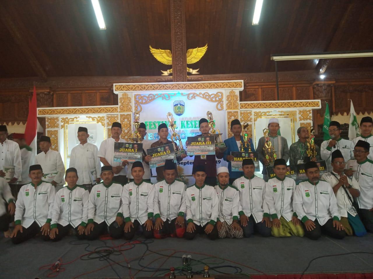 Festival Kesenian Terbang Telon Se Kabupaten Jepara tahun 2019