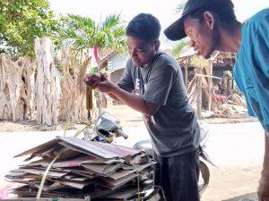 Bank Sampah di Pantai Bondo