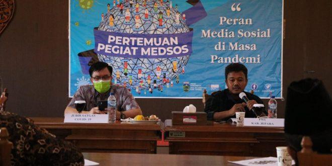 Pegiat Medsos Jepara Diminta Aktif Kampanyekan New Normal