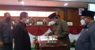 Perubahan APBD Tahun 2020 Disetujui Wakil Rakyat