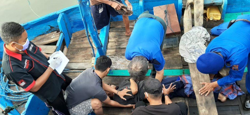Usai Memancing, Seorang Warga Tahunan Meninggal di Perahu