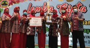 Sajikan Singkong dan Gembili, PKK Jepara Juara Tingkat Provinsi