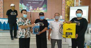 Disporapar Jateng Beri Alat Protokol Kesehatan Kepada Pelaku Wisata