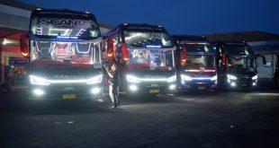Dampak PSBB Jawa-Bali, Pengusaha Bus Jepara Tak Berdaya