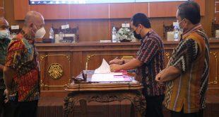Pemerintah Jepara Teken Perjanjian Kinerja Lebih Transparan